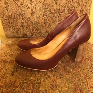 Corso Como Cushion soft stacked heels Sz 8